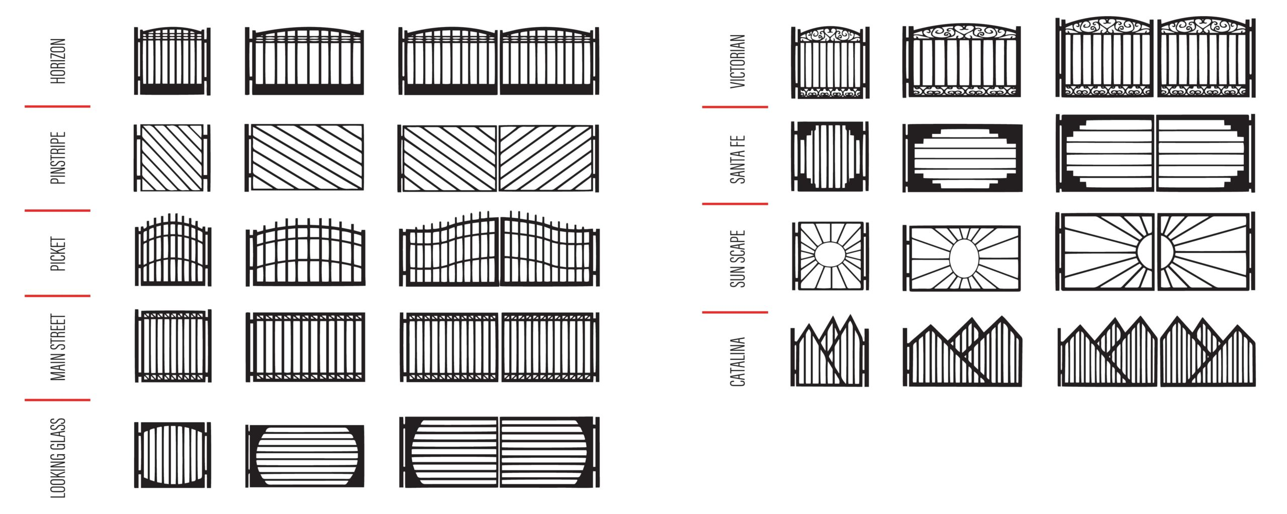 Gate Design Ideas in Tucson - Kaiser Garage Doors & Gates