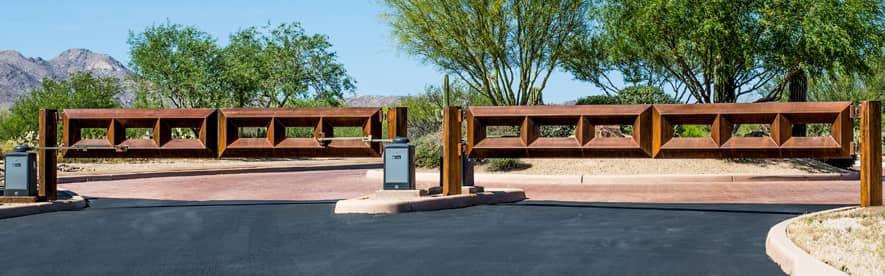Commercial Gates in Tucson - Kaiser Garage Doors & Gates