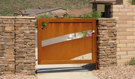 Commercial Pedestrian Gates in Tucson - Kaiser Garage Door & Gates